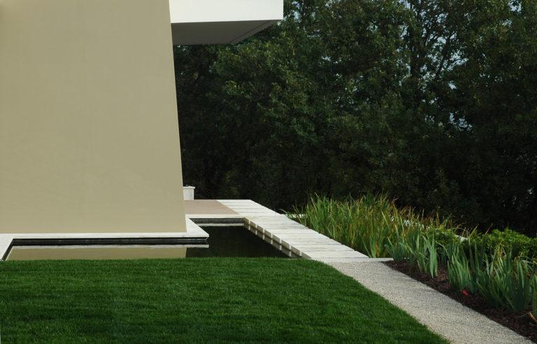 Progetto di giardino privato al Villaggio Ghiandaio